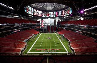 Falcons New Stadium Football
