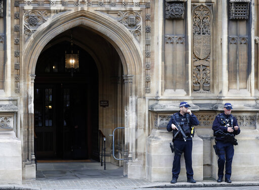 The Latest: UK govt formally suspends Parliament for 5 weeks