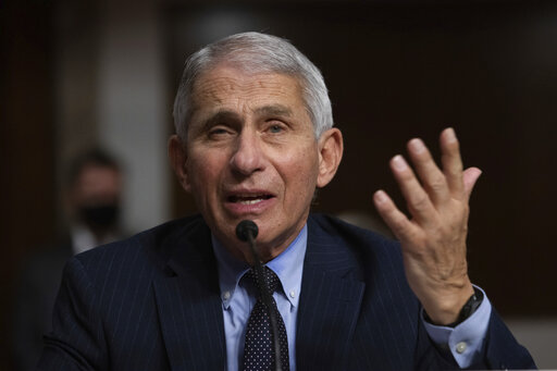 The Latest: Dr. Fauci criticizing concept of 'herd immu...