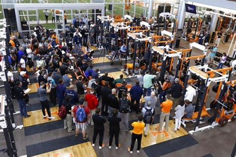 Tennessee Pro Day Football