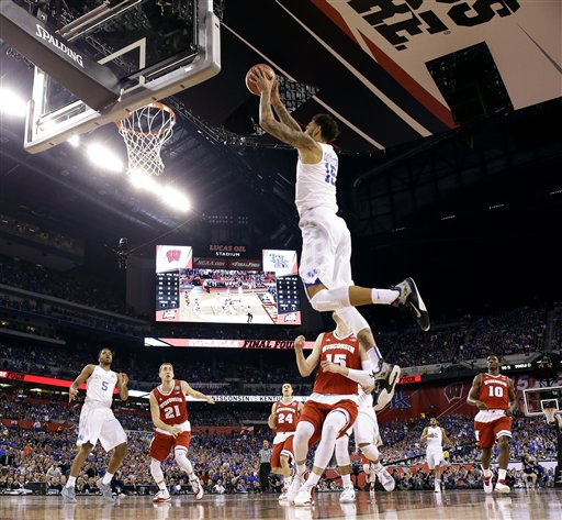 NCAA Kentucky Wisconsin Final Four Basketball