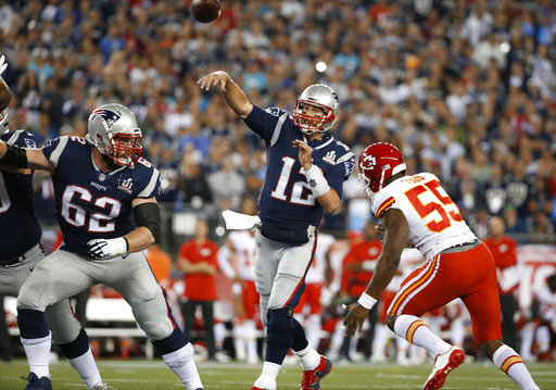Tom Brady, Dee Ford
