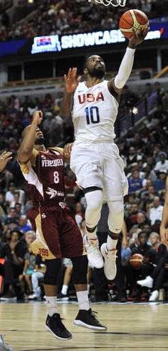 Venezuela USA Basketball