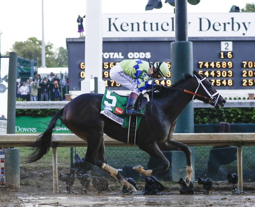 The Latest  Always Dreaming unofficially wins Kentucky Derby 0710d9fb4757