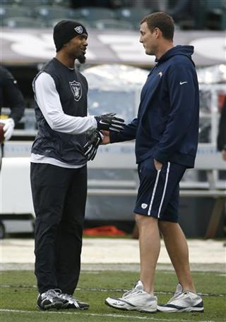 Charles Woodson, Philip Rivers