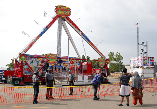 Thrill ride OK'd hours before deadly state fair acciden