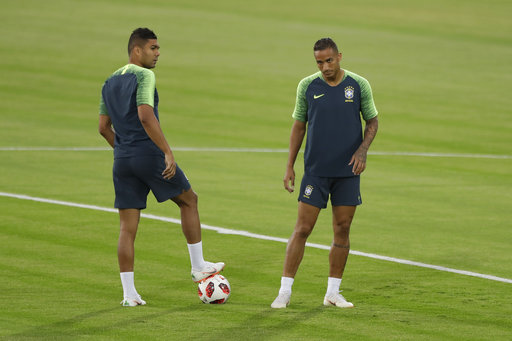 89d8e52561f The Latest: Brazil says injured Danilo out of World Cup | AccessWDUN.com
