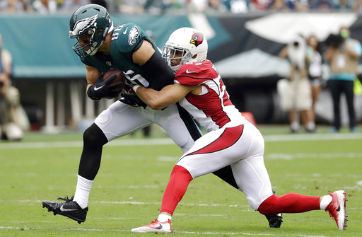 Zach Ertz, Tyvon Branch