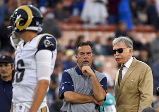 Relocation Rams NFL Sued