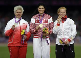 London Olympics Athletics Womens