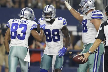 Terrance Williams, Dez Bryant, Doug Free
