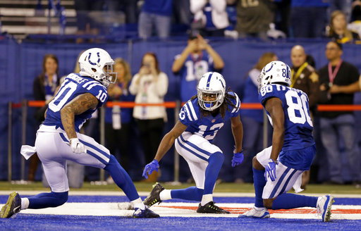 Chester Rogers, T.Y. Hilton, Donte Moncrief