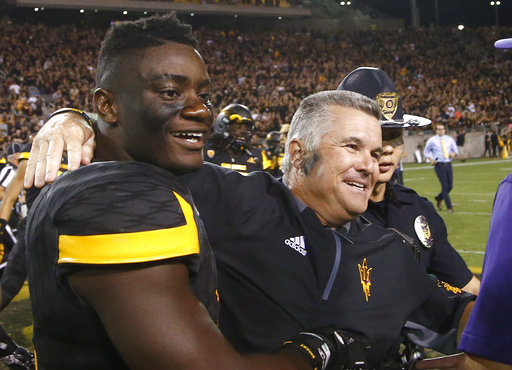 Todd Graham, Christian Sam