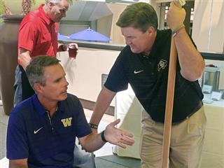 Chris Petersen, Mike MacIntyre