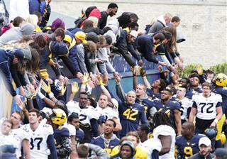 West Virginia Spring Game Football