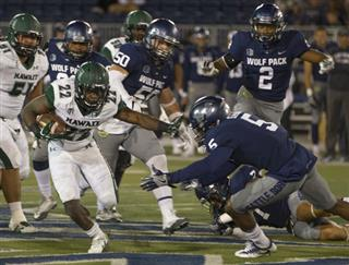 Hawaii Nevada Football