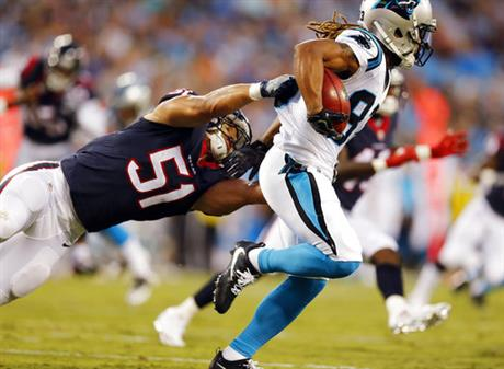 Texans Panthers Football