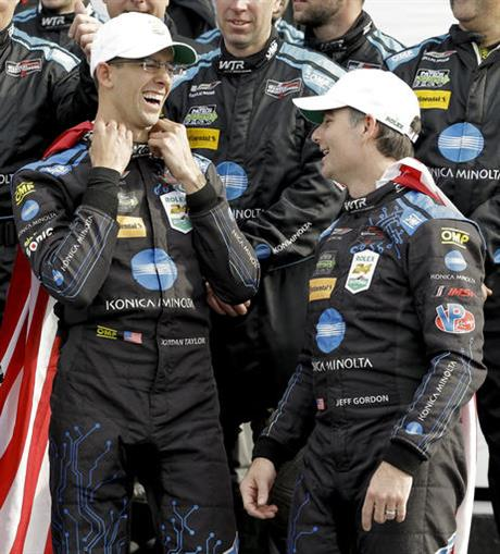 Jeff Gordon, Jordan Taylor