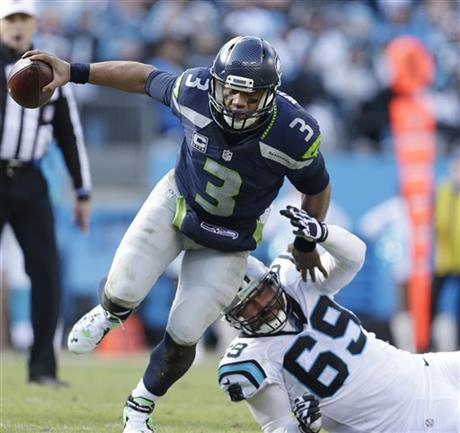 Seahawks Panthers Football