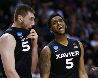 NCAA Xavier Gonzaga Basketball