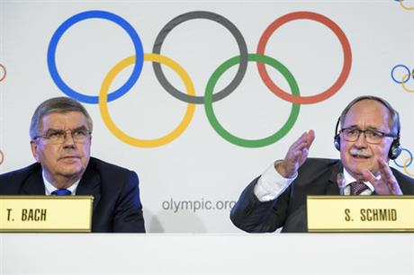 Switzerland IOC Russian Doping
