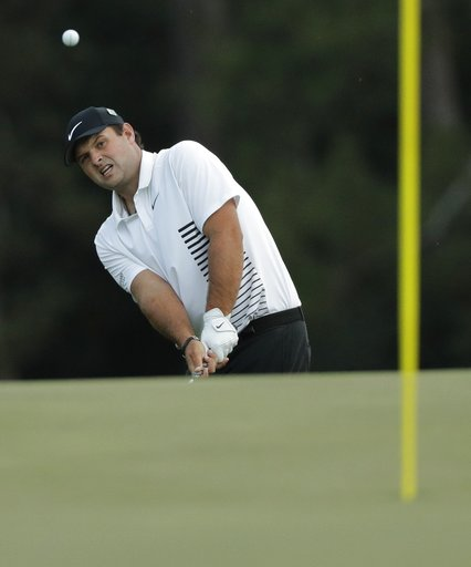 Reed takes lead as Masters takes shape without Tiger in mix 16fae9ee6635