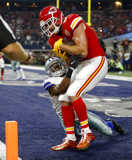 Travis Kelce, Byron Jones
