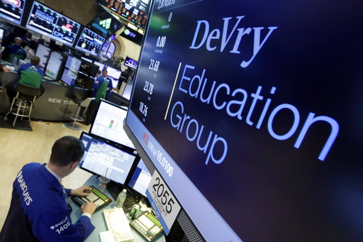 Recent Devos Hires Bode Ill For Student >> For Critics Of Devos Sale Of Devry Chain Raises Red Fl