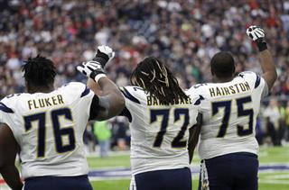 D.J. Fluker, Joe Barksdale, Chris Hairston