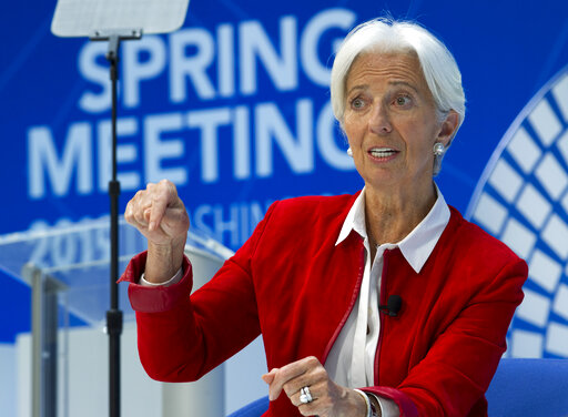 IMF chief: Trade conflicts threaten fragile world economy