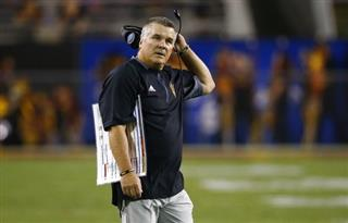 Arizona State Graham Fired Football