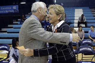 Sylvia Hatchell, Roy Williams
