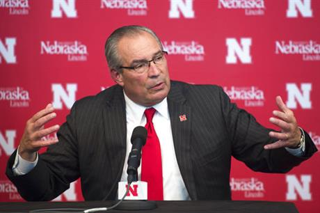 Nebraska Athletic Director, 10.15.2017