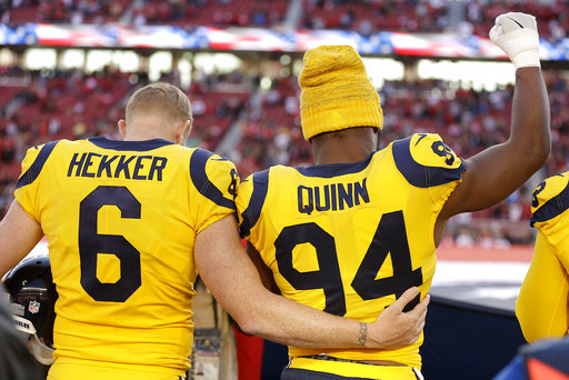 Johnny Hekker, Robert Quinn