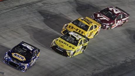 Chase Elliott, Carl Edwards, Kyle Busch, Ryan Blaney