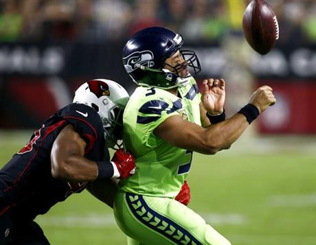 APTOPIX Seahawks Cardinals Football