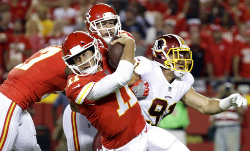 Alex Smith, Ryan Kerrigan