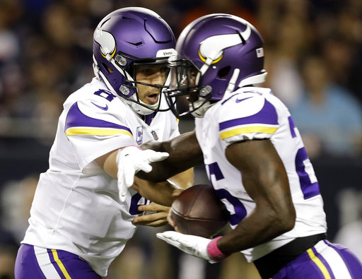 Sam Bradford, Latavius Murray