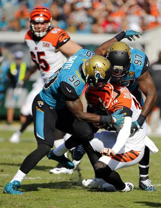 Telvin Smith, Malik Jackson, Andy Dalton