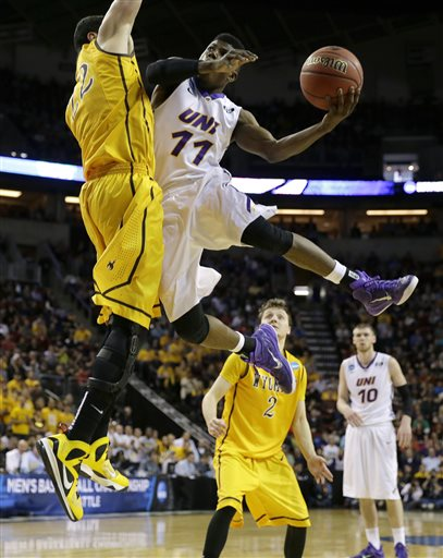 NCAA Wyoming Northern Iowa Basketball