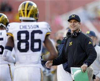 Jim Harbaugh, Jehu Chesson