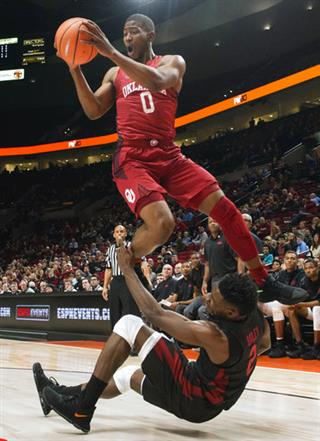 APTOPIX Arkansas Oklahoma Basketball