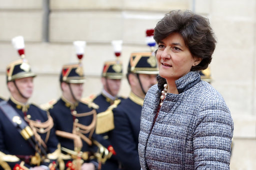 French president names mix of faces to left-right gover