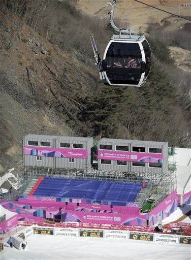 South Korea Ski Pyeongchang 2018 Test Event