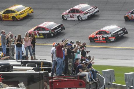 NASCAR Atlanta Trucks Auto Racing