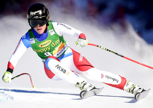 Canada WCup Womens Super G Skiing