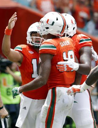 Malik Rosier, Lawrence Cager