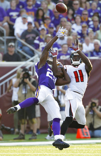 Xavier Rhodes, Julio Jones