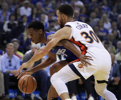 759b0b5263b Curry leads Warriors to No. 1 seed in Western Conferenc ...