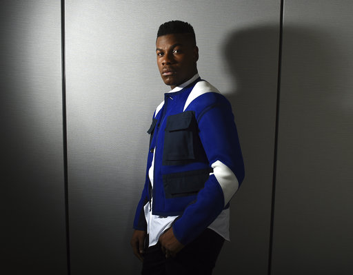 This Dec. 3, 2017 photo shows John Boyega posing for a portrait during the
